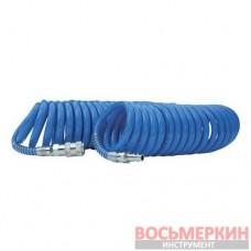 Шланг спиральный полиуретановый 8 x 12 мм 5м с б/с PT-1715 Intertool