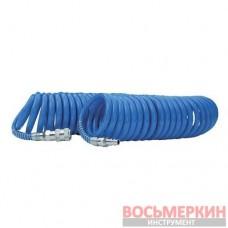 Шланг спиральный полиуретановый 6,5 x 10 мм 5м с б/с PT-1710 Intertool
