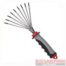 Грабли веерные 230 мм х 100 мм FT-0023 Intertool