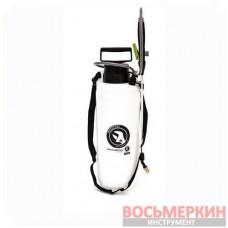Опрыскиватель 8л., 2 сопла латунь+пластик FT-9006 Intertool