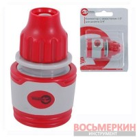 Конектор 1/2 для шланга 3/8 GE-1122 Intertool