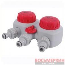 Таймер для подачи воды с 2-х канальным распределением GE-2012 Intertool