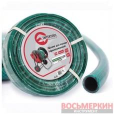 Шланг для полива 3-х слойный 1/2 20м армированный PVC GE-4023 Intertool