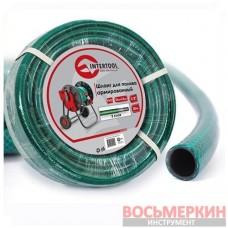 Шланг для полива 3-х слойный 1/2 30м армированный PVC GE-4025 Intertool