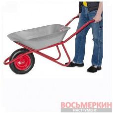 Тачка садово-строительная 65л 150кг 1 пневмоколесо WB-0615 Intertool