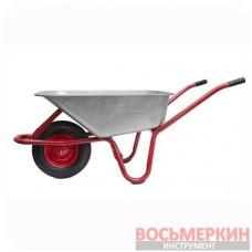 Тачка садово-строительная 85л 150кг 1 пневмоколесо WB-0813 Intertool
