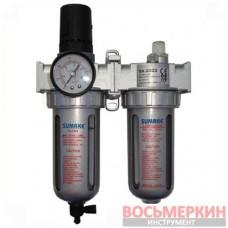 Фильтр воздушный с регулятором и лубрикатором 1/4 SA-2322 Sumake
