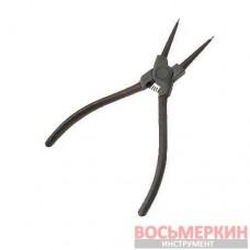 Щипцы для снятия и установки стопорных колец 150мм, прямые на сжим HT-7005 Intertool