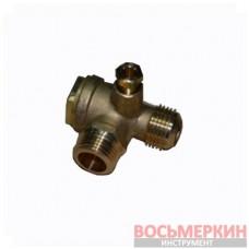 Обратный клапан резьба наружная 1/2 x1/2 9048007 компрессора Dari
