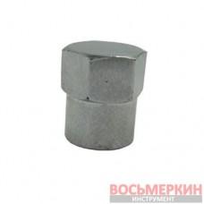 Колпачок для вентилей хромированный пластиковый TR-414