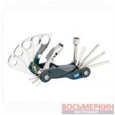 Вело мультиинструмент кассета ключи отвертки 20A17MR King Tony