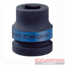Головка ударная 1 внутренний квадрат для футорок колес 17 мм 60 мм 851417M King Tony