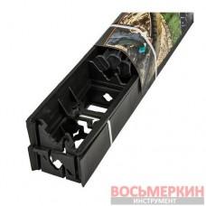 Комплект бордюр садовый Rim-Bord-45 SET 3 штуки и 15 анкеров Black OBRB45SET3 Bradas