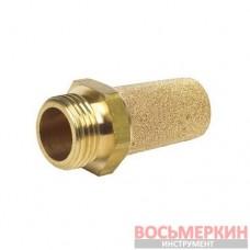 Глушитель звука пневматический латунный 1/4 SFSC-02 Airkraft