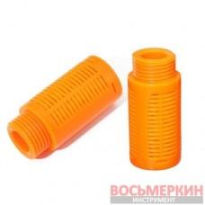 Глушитель звука пневматический пластиковый 1/2 SPSL-04 Airkraft