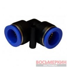 Соединитель угловой для пластиковых трубок 10 мм SPV10 Airkraft