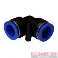 Соединитель угловой для пластиковых трубок 6 мм SPV06 Airkraft