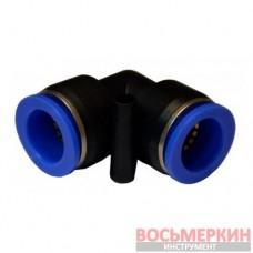 Соединитель угловой для пластиковых трубок 8 мм SPV08 Airkraft
