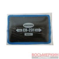 Пластырь радиальный Cr 231 110 мм х 155 мм 2 слоя корда Unicord
