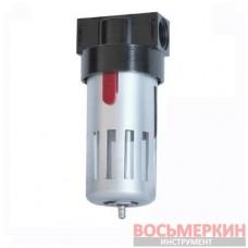 Лубрикатор (устройство подачи масла) 1/2 в металлической защитной колбе PT-1421 Intertool