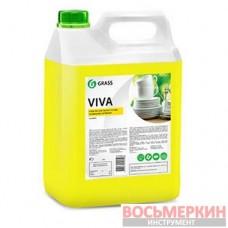 Средство для ручного мытья посуды Viva канистра канистра 5 кг 345000 Grass