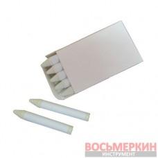 Мел восковый белый 13 мм белая этикетка Украина