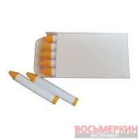 Мел восковый желтый 13 мм белая этикетка Украина