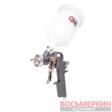 Пистолет покрасочный пневматический, форсунка 1.5мм, В/Б пластик, 600мл PT-0204