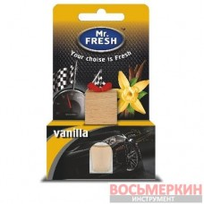 Ароматизатор Фрешка бутылочка с деревянной пробкой Груша ваниль