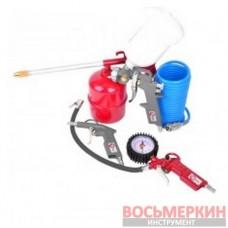 Набор пневматического инструмента 5 предметов PT-1502 Intertool
