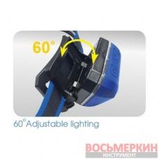 Фонарь налобный 3W LED 9TA52A KingTony