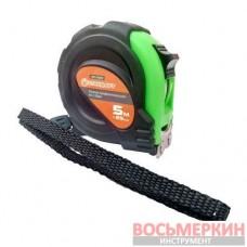 Рулетка профессиональная магнитный зацеп 5 м х 25 мм WMT-0525M Стандарт