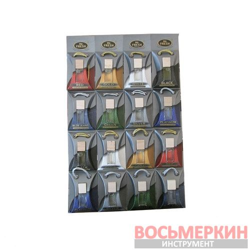 Ароматизатор Фрешка бутылочка с деревянной пробкой Premium планшет 16 шт цена за 1 шт