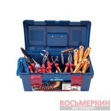Набор диэлектрического инструмента в кейсе 21 предмет 97121PQ KingTony