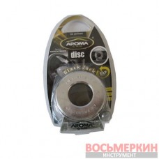 Ароматизатор Aroma на обдув гелевый Disc Black Jack