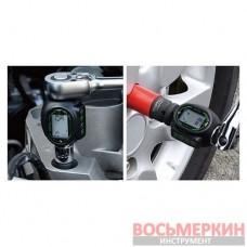 Цифровой динамометрический адаптор двустороннего действия 1/4 6-30Nm DTA-030N Toptul