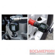 Цифровой динамометрический адаптор двустороннего действия 3/8 27-135 Nm DTA-135N Toptul