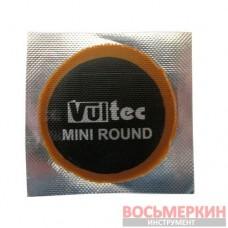 Латка камерная Vultec Евростиль круглая 35 мм упаковка 50 штук 010V Mini Round