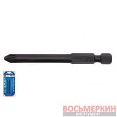 Бита 1/4 магнитная ударная PH3 х 150 мм комплект 2 штуки 711503P-S1 KingTony