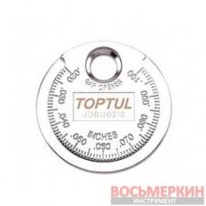 Измеритель зазора между электродами свечи JDBU0210 Toptul