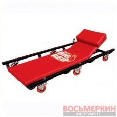 Лежак автослесаря подкатной с отк. подголовником TR6452 Torin