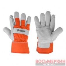 Защитные кожаные перчатки Iron Bull Canyon RWIBC105 Bradas