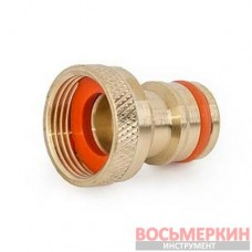 Соединение для крана внутренняя резьба адаптер 1/2 Brass BR-2196 Bradas