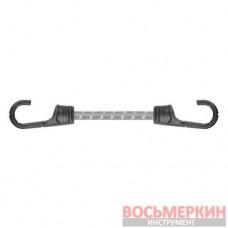 Резиновый шнур с крючками 2 х 40 см PVC BUNGEE CORD HOOK BCH2-08040GY-B Bradas