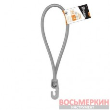 Резиновый шнур с крючком 18 см PVC BUNGEE CORD HOOK BCH3-0418GY-E Bradas