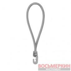 Резиновый шнур с крючком 25 см PVC BUNGEE CORD HOOK BCH3-0425GY-E Bradas