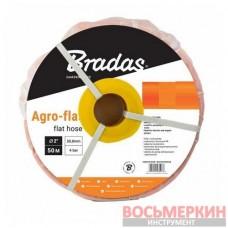 Шланг плоский AGRO-FLAT PE W.P.4 ORANGE 2 100 м WAF4B200100 Bradas