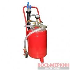 Установка для вакуумной откачки масла 24л. B24V G.I. KRAFT