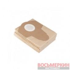 Фильтр-мешок бумажный к пылесосу DT-1020/DT-1030 5 штук DT-1034 Intertool
