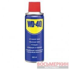 Смазка-спрей универсальная проникающая WD-40 200мл